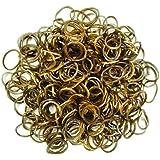 Darice Lot de 300élastiques pour bracelets loop avec clips en forme de S assortis
