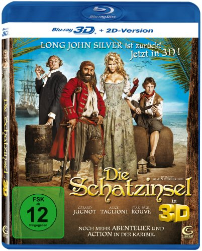 Die Schatzinsel 3D (inkl. 2D Version) [Blu-ray 3D]
