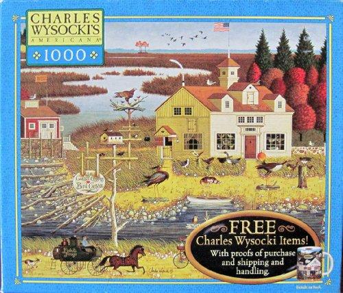 Cheap Milton Bradley Charles Wysocki's Americana 1000 Piece Jigsaw Puzzle (B002RIVWO6)
