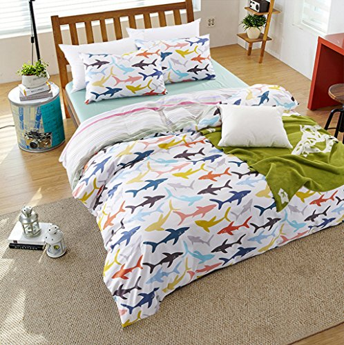 Shark in the Sea Duvet Cover Set