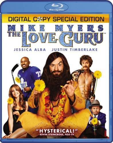Cover art for  The Love Guru (Two-Disc Special Edition) [Blu-ray]