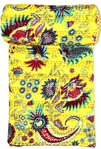 handmade kantha quilts bed spreads throw king size