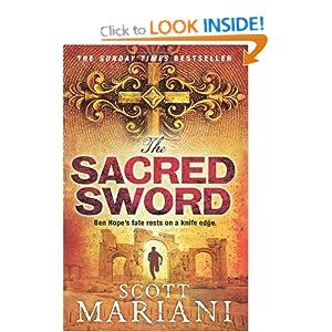 The Sacred Sword - Scott Mariani