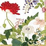 Entertaining with Caspari Profusion of Flowers Paper Luncheon Napkins, Pack of 20