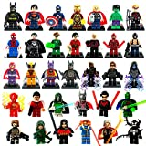 Momushop Super Heroes Series Action & Toy Minifigures (33 Pieces)