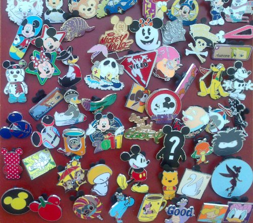 Disney-Official-Trading-Pin-Lot-of-25-Lapel-Collector-Pins