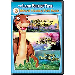 The Land Before Time II-IV 3-Movie Family Fun Pack