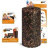 Blackroll Orange (Das Original) - DIE Selbstmassagerolle inkl. Übungs-DVD, Übungsposter & Booklet