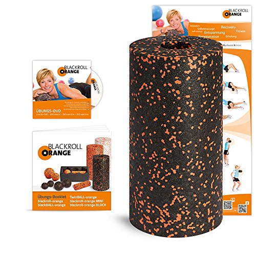 Blackroll Orange (The Original) - Self-massage Roll - Including Training DVD and Exercise Poster
