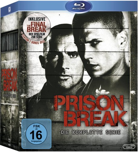 Prison Break - Die komplette Serie (inkl. The Final Break) [Blu-ray]