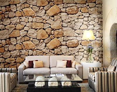 Giant Wall Mural / Photo Wallpaper Apulia Stone Wall 400 x 280 cm