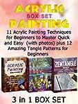 Acrylic Painting Box Set: 11 Acrylic...
