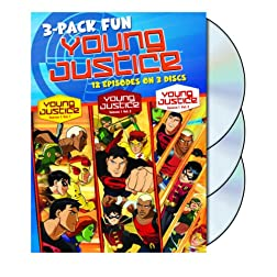 Young Justice: Season One - Volumes 1, 2 & 3