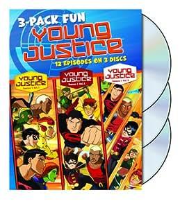 Young Justice: Season 1 - Volumes 1, 2 & 3