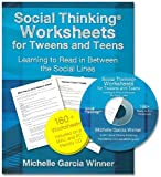 Social Thinking Worksheets for Tweens and Teens