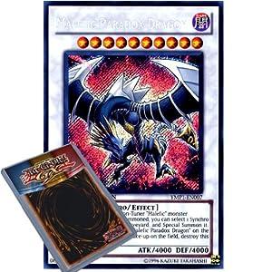 YuGiOh : YMP1-EN007 Limited Ed Malefic Paradox Dragon Secret Rare Card - ( Movie Pack Yu-Gi-Oh! Single Card )