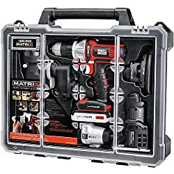 Black & Decker Matrix 6 Tool Combo Kit with Case