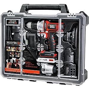 Black & Decker Matrix 6 Tool Combo Kit with Case