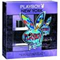 Playboy New York male EdT 50 ml plus Shower Gel 250 ml, 1er Pack (1 x 2 Set)