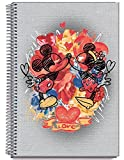 Cuaderno Tapa Dura A6 Disney Crazy In Love