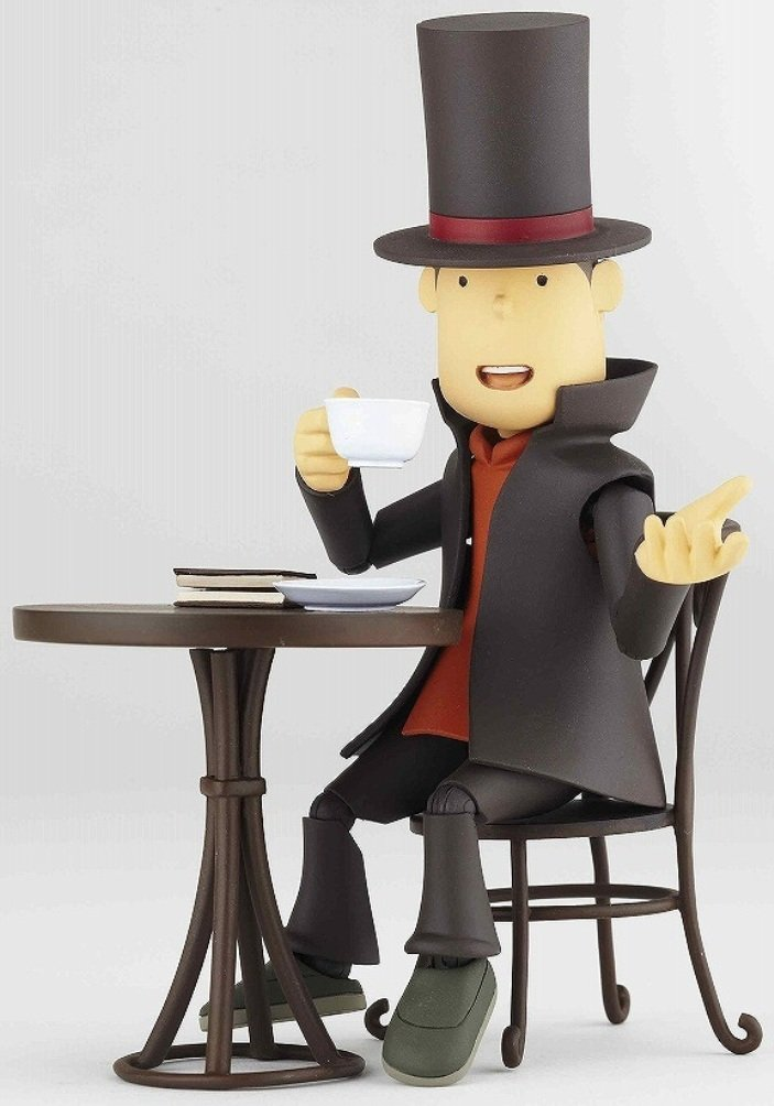 Revoltech Professor Layton Action figure