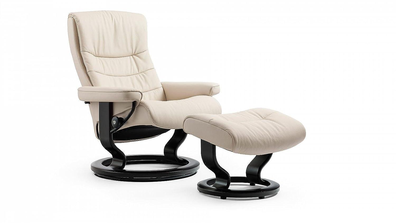 Stressless® Nordic Sessel mit Hocker (M) Creme günstig online kaufen