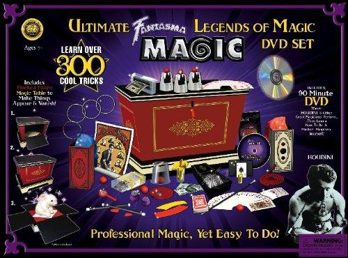 Legends of Magic DVD Set with 300 Fun Tricks