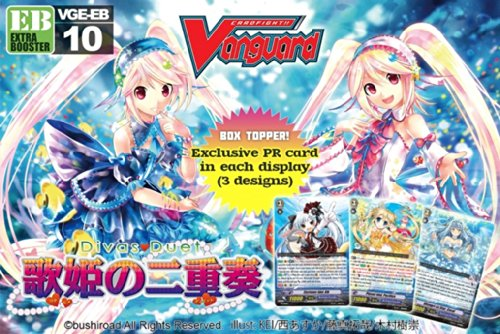 Cardfight Vanguard TCG VGE-EB10 English Diva's Duet Extra Booster Box