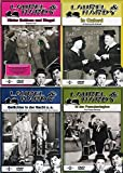 Laurel & Hardy - Collection 8: Hinter Schloß und Riegel/In Oxford/Gelächter in der Nacht/In der Fremdenlegion (4 DVDs)