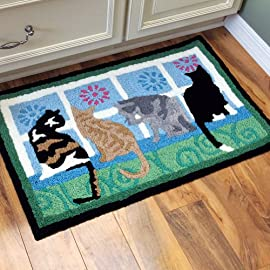 Cute Cat Doormat And Rugs What Better Way To Welcome