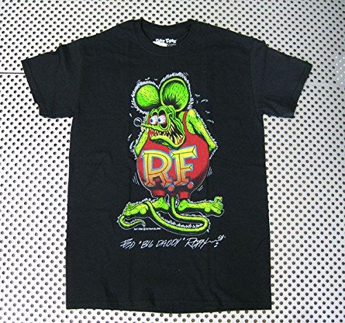 RAT FINK ラットフィンク Tシャツ(RIT209)ロックTシャツ/バンドTシャツ/Tシャツ/ロック/バンド ファッション/Rock/rock/band T-SHIRTS/メンズ/レディース/半袖 アメリカン雑貨 アメリカ雑貨 ラットフィンク (M)