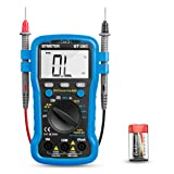 Multimeter, BT-39C BTMETER Auto Range Digital Avometer Universal Meter 6000 Counts With New Substitutable Fixed Mode, NCV, Diode, AC & DC Voltage, AC