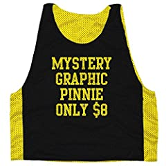 Mystery Graphic Reversible Lacrosse Pinnie