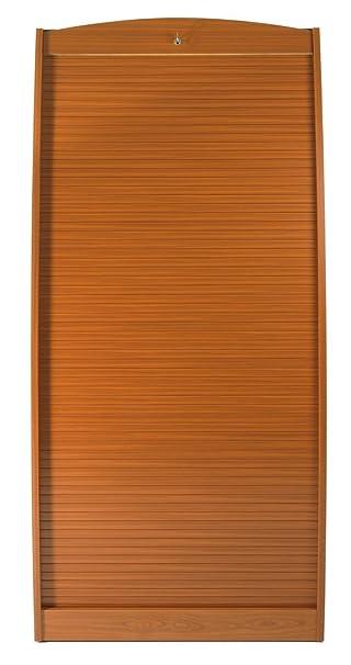 Simmob PARIS580MK armadio informatico curvo, in legno, colore: ciliegio/wengé, lunghezza 60 cm