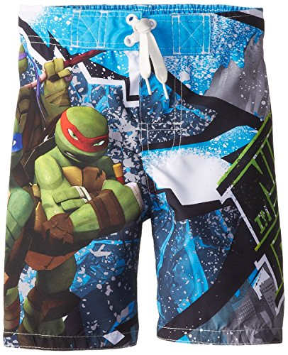 Teenage Mutant Ninja Turtles Little Boys Swimsuit Swim Trunk Size 5/6