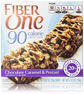 ... Chewy Bars, Chocolate Caramel and Pretzel, 5 Count: Prime Pantry