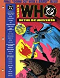 img - for Who's Who In The DC Universe #16 (February 1992) book / textbook / text book