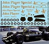 デカール 1/18 F1 LOTUS 98T 1986 MISSING JPS DECALS TB DECAL TBD212