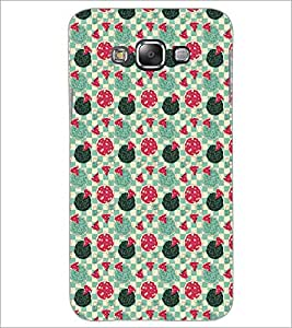 PrintDhaba Pattern D-5369 Back Case Cover for SAMSUNG GALAXY A7 (Multi-Coloured)