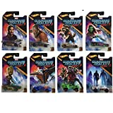 Hot Wheels 2017 Guardians of the Galaxy Vol. 2 Bundle Set of 8 Die-Cast Vehicles