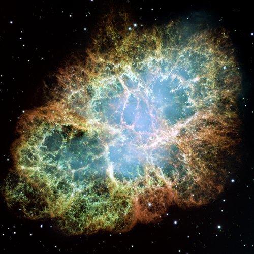 Hubble Space Telescope The Crab Nebula Photo Nasa Photos 8X8