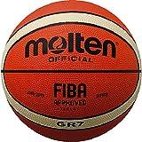Molten Ballon de basket d' entraînement nouveau design 7 ORANGE/CREME, BGR7-OI...