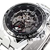 BEST SELLING Russian Noble Sports Men's Automatic Mechanical Watch Metal Skeleton + BOX