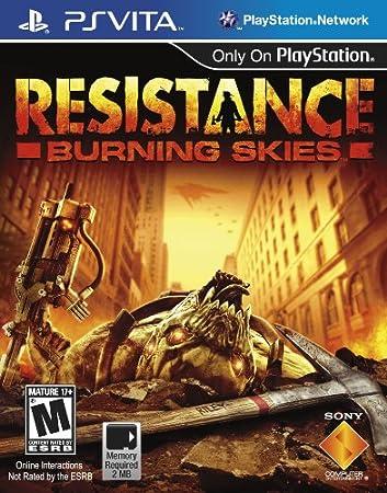 Resistance: Burning Skies - PlayStation Vita