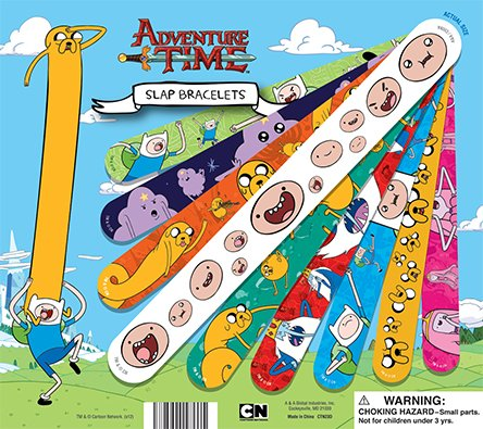 Adventure Time Figure Snap Bracelets * Set of 12
