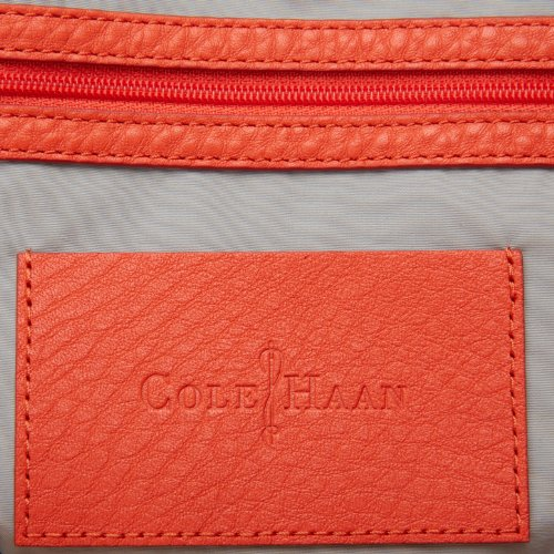 Cole Haan Crosby Colorblock Small B41537 Tote,Orange Pop,One Size