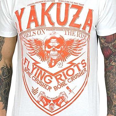 Yakuza Premium T-Shirt Flying Riots weiß