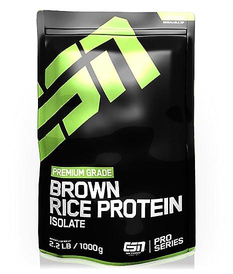 ESN Brown Rice Protein Isolate, Pro Series, Hazelnut, 1er Pack (1 x 1000g Beutel)