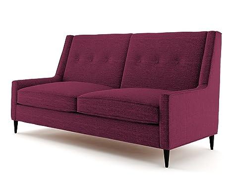 Ives 2 Sitzer Sofa lila, Couch , Jugendsofa, couchgarnituren, lounge möbel