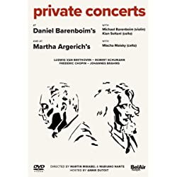 Private Concerts at Daniel Barenboim's and at Martha Argerich's